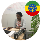 Ms. Meklit Teshome Masters Student in Japan from Ethiopia