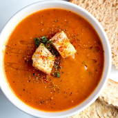 Copycat Panera Tomato Basil Bisque is the Soup We Could Eat Every Single Day