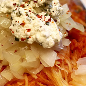 Protein-Punch Marinara Spaghetti Squash