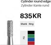 FG-Diamant 835KR, Zylinder  Kante rund