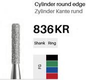 FG-Diamant 836KR, Zylinder Kante rund