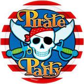Piraten Party , Totenkopf