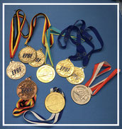 Medaillensammlung Europameisterschaften