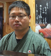 「鮪雄市場」店主の田邉さん