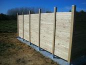 kit clôture en châtaignier