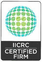 米国IICRC公認資格証