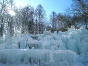 氷のイベントステージ