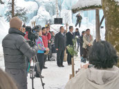 氷祭り儀式の始まり