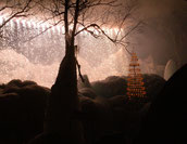 飛騨高山新年第一号、冬の大花火