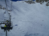 Sessellift Ski Skigebiet Schnee Winterurlaub