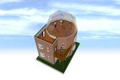 SketchUpで「ドームなお家]を設計してみませんか?