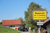 Memersch,Gästehaus linker Hand