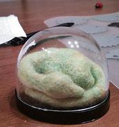 羊毛フェルト 小さいドラゴン