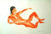 Dionysos auf Kreta (Radierung)