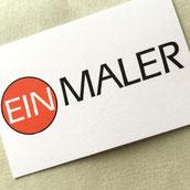Druckatelier46, Mülchi - Gestaltung Visitenkarten Ein Maler, Limpach