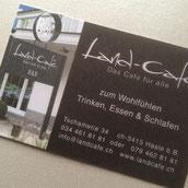 Druckatelier46 - Gestaltung Visitenkarte Land-Café