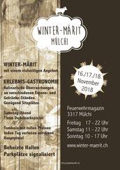 Druckatelier46 Mülchi/Bern - Gestaltung Flugblatt Winter-Märit Mülchi