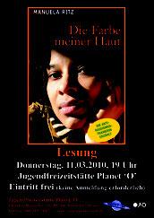 Manuela Ritz am 11.03.2010 Die Farbe meiner Haut
