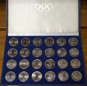 10 DM Silber Gedenkmünzen Olympiade 1972 München