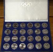 10 DM Silber Gedenkmünzen Olympiade 1972 München