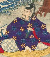 天神様 菅原道真公の浮世絵です