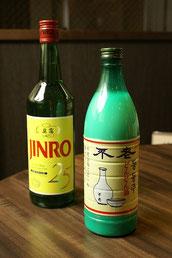 韓国のマッコリ、JINRO