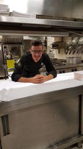 Luca Meoni, Excutive chef ristorante Gradale di Perugia. Diplomato a.s. 2005/06