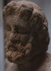 Jupiter - cavalier à l'anguipède gallo romaine croix guilllaume saint-quirin stèle funéraire