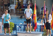Campeón de España 100 espalda Jul 2010 (Mallorca)