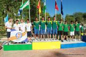Campeón de España 4x100 estilos Jul 2012 (Mairena)