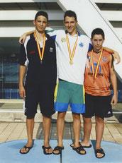Campeón de España 100 espalda Jul 2009 (Barcelona)