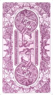 Tarot Art Nouveau - Dos