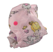 couche lavable froufrous danseuses étoile nouveau-né la petite crevette