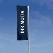 Hissflagge für Masten / Ausleger mit Befestigung rechts