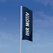 Hissflagge für Masten / Befestigung links