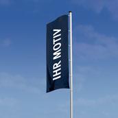 Hissflagge für Masten / Befestigung rechts