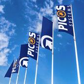 Hissflaggen mit Ihrem Motiv