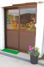 入り口。小さいけど可愛いお店です