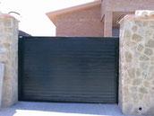 puerta corredera panel sandwich