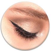 Permanent Make-up dauerhafter Llidstrich