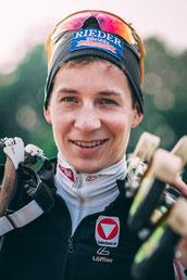 Alex mit Skiroller