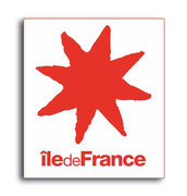 STICKER REGION ILE DE FRANCE PLAQUE IMMATRICULATION