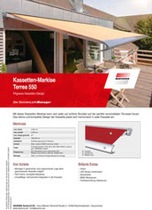 Download WAREMA Produktinfo Terrea 550