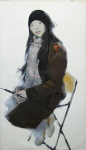 这个冬日 THIS WINTER  120X70CM  布面油画  OIL ON CANVAS   2008