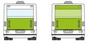 Verkehrsmittelwerbung / ÖV Werbung von BlackStone Werbetechnik in Luzern