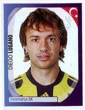 N° 470 - Diego LUGANO (2007-08, Fenerbahçe, TUR > 2011-Jan 12, PSG))