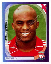N° 206 - Mohamed SISSOKO (2007- Janv 08, Liverpool, GBR > 2011-Jan 12, PSG)