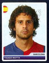 N° 013 - Thiago MOTTA (2006-07, Barcelone, ESP > Jan 2012-??, PSG)