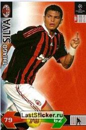 N° 003 - Thiago SILVA (2009-10, Milan AC, ITA > 2012-??, PSG)