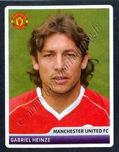 N° 059 - Gabriel HEINZE (2001-04, PSG > 2006-07, Manchester United, ANG)